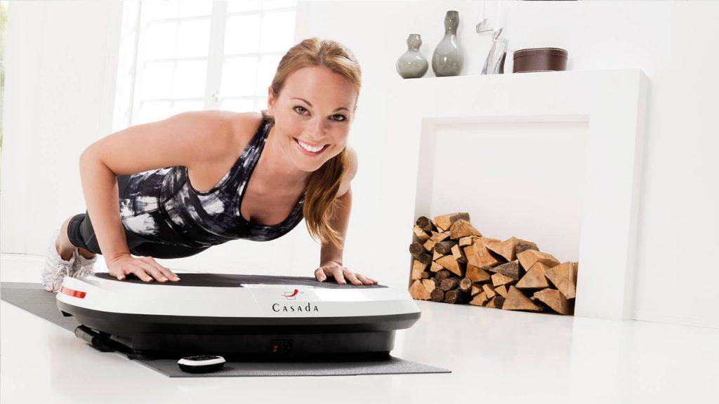 Plateforme vibrante pour le fitness